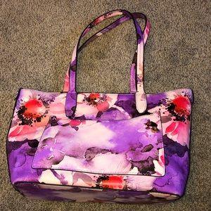 EUC Floral Shoulder Bag